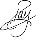 Ray Signature